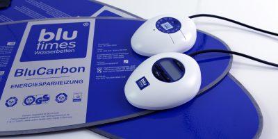 Wasserbettenheizung: BluCarbon Analog
