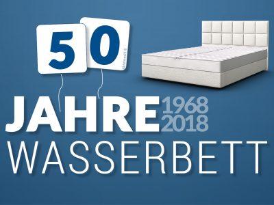 50 Jahre Wasserbett! Happy Birthday my lovely sweetheart!