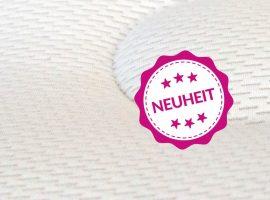 NEU! - Der Wasserbett Bezug SilverAir. Luftig weich und antibakteriell dank G-LOFT® und Silbergarngewebe.