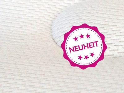 NEU! - Der Bezug SilverAir. Luftig weich und antibakteriell dank G-LOFT® und Silbergarngewebe.