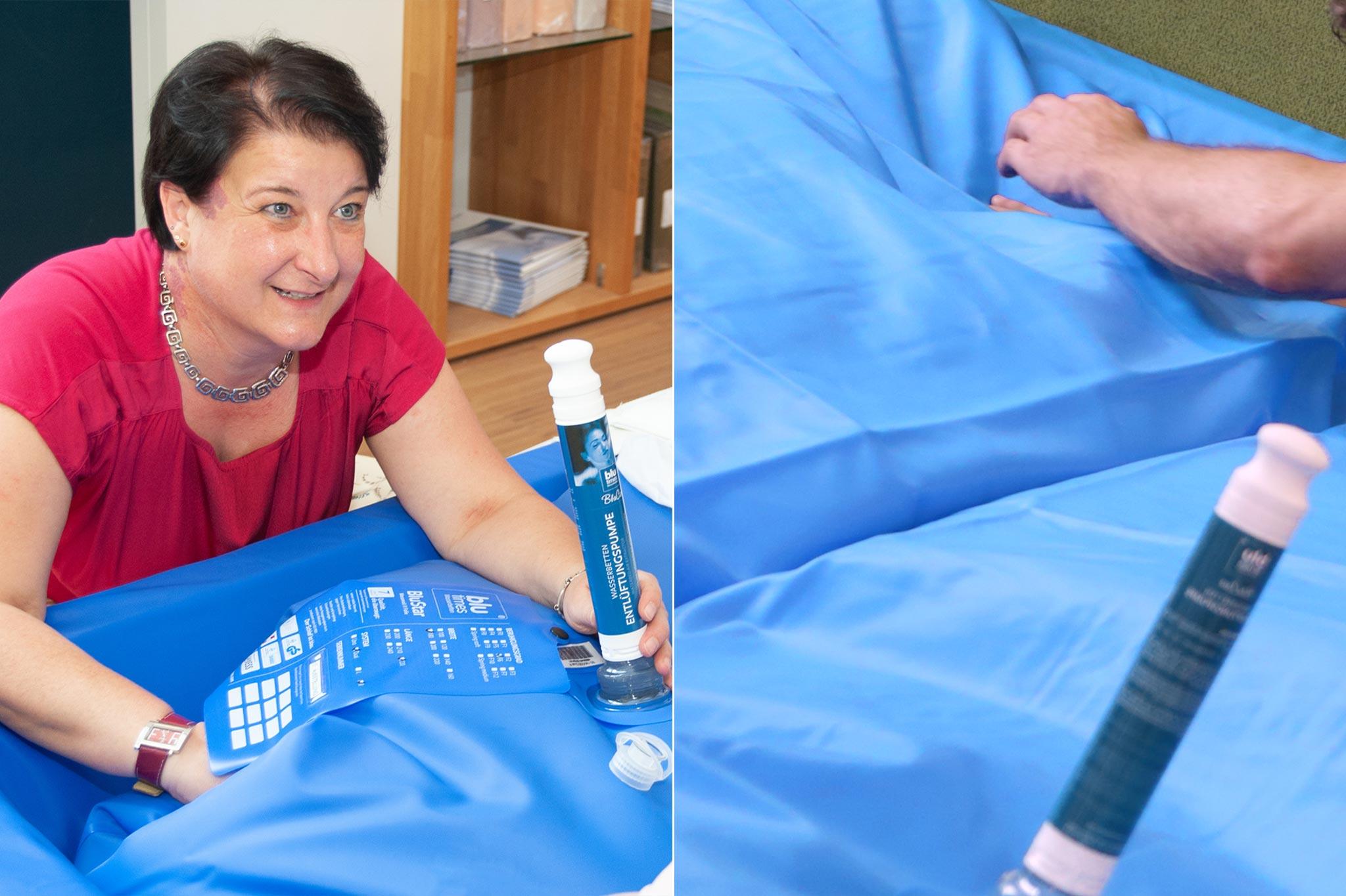 Bekannt So entlüften Sie Ihr Wasserbett richtig | Wasserbett Entlüfterpumpe HC44
