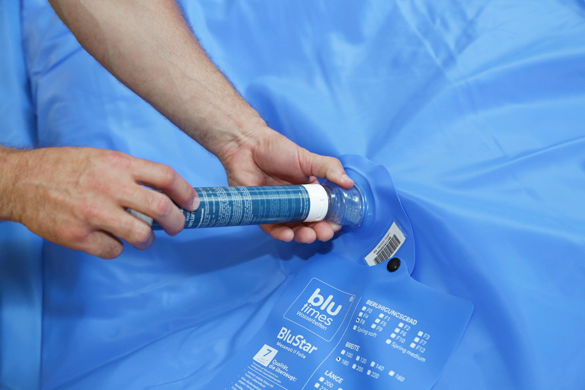 Gut gemocht So entlüften Sie Ihr Wasserbett richtig | Wasserbett Entlüfterpumpe KZ02