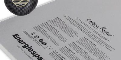 Wasserbettenheizung: BluCarbon IQ 320 W